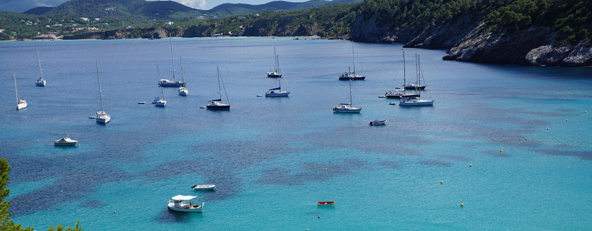 Zeilvakantie Balearen: Ibiza boten