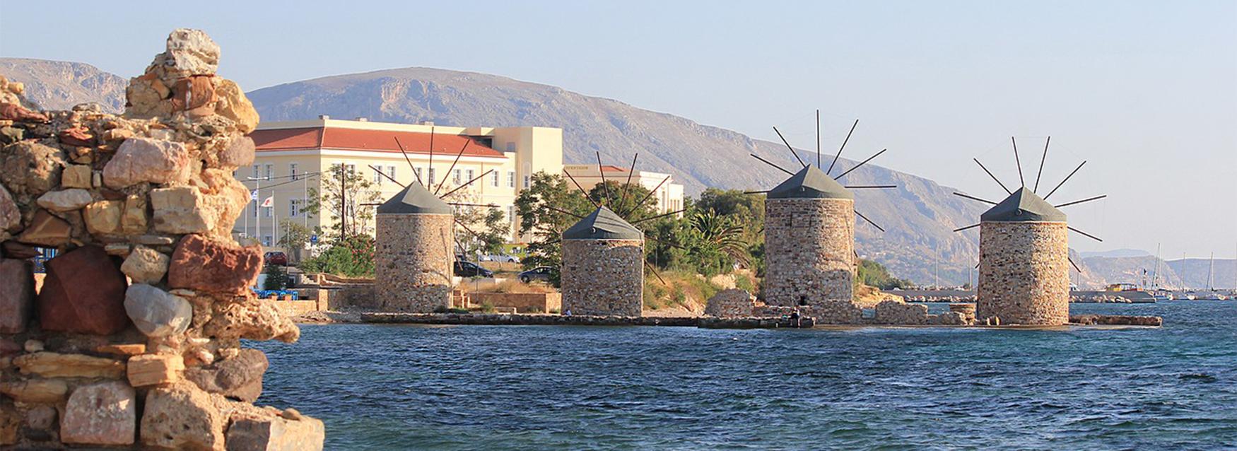 Zeilen Griekenland: chios, Noord en Oostegeische Zee eilanden
