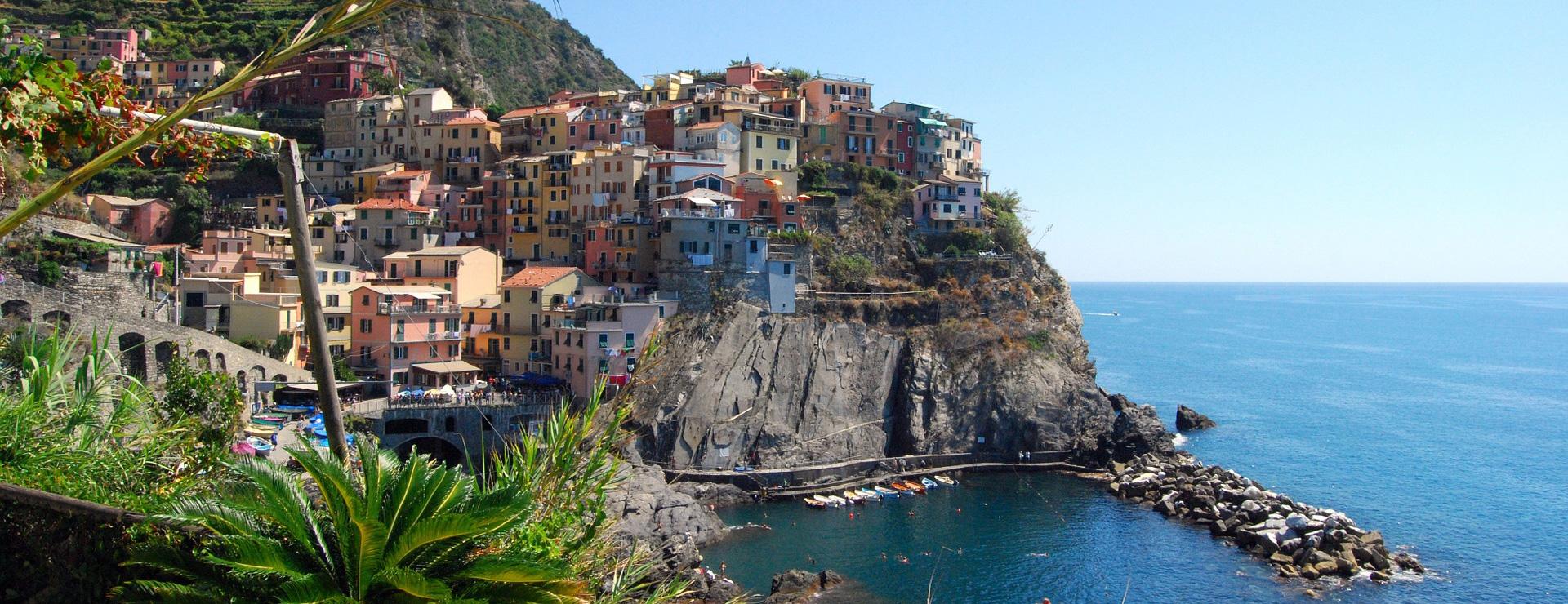 Vakantie met boot: Cinque Terre