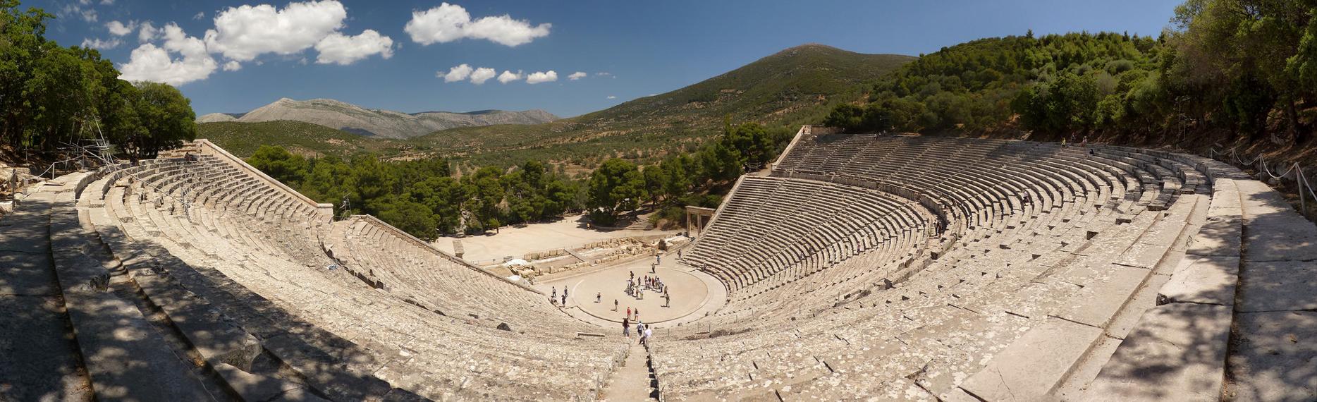 Zeilen in Griekenland: Epidaurus