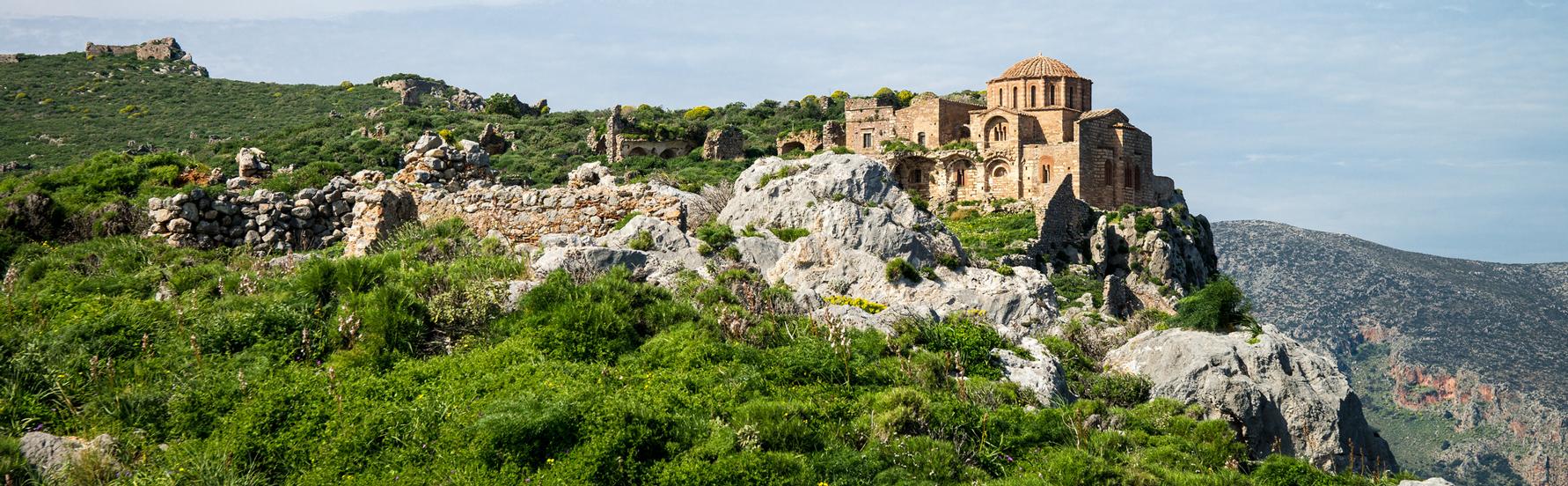 Zeilen in Griekenland: Monemvasia