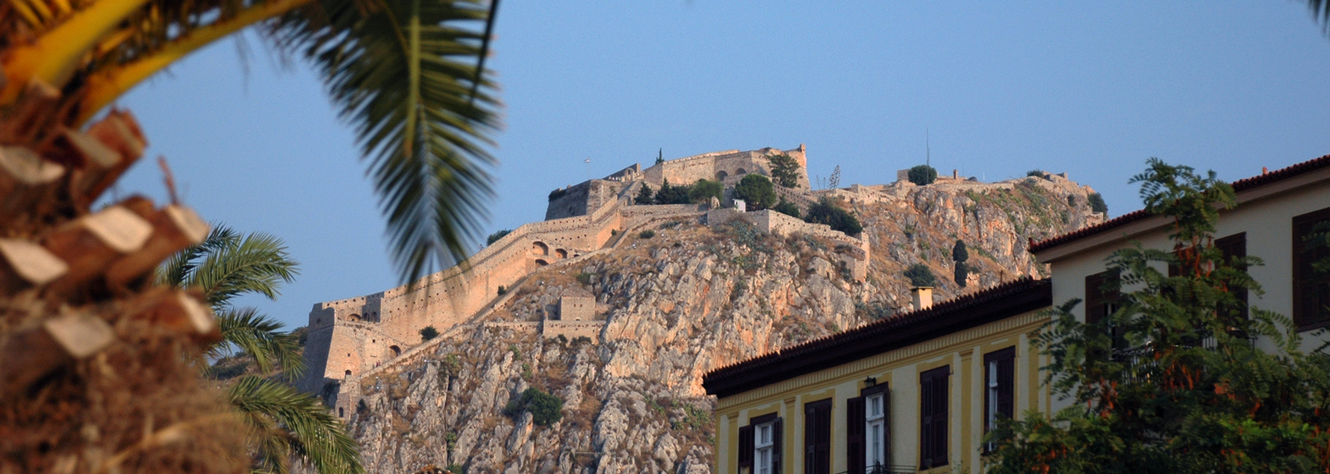Zeilen in Griekenland: Nafplio, Palamidi