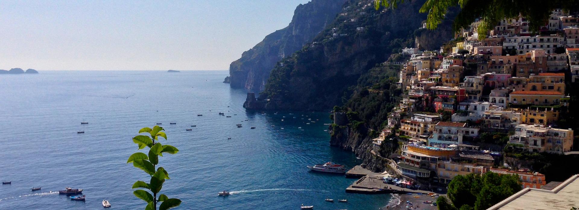 Vakantie met boot: Positano
