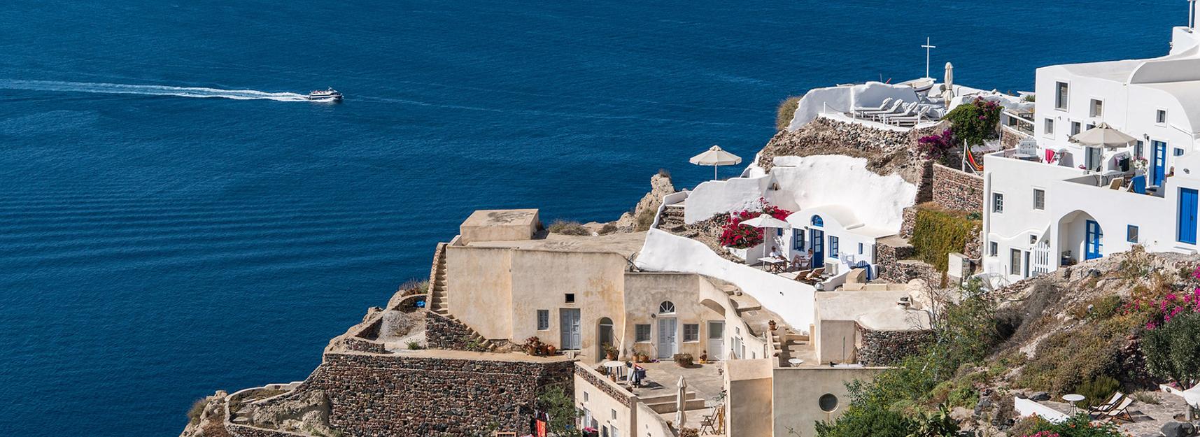 zeilen in Griekenland: Santorini, Cycladen