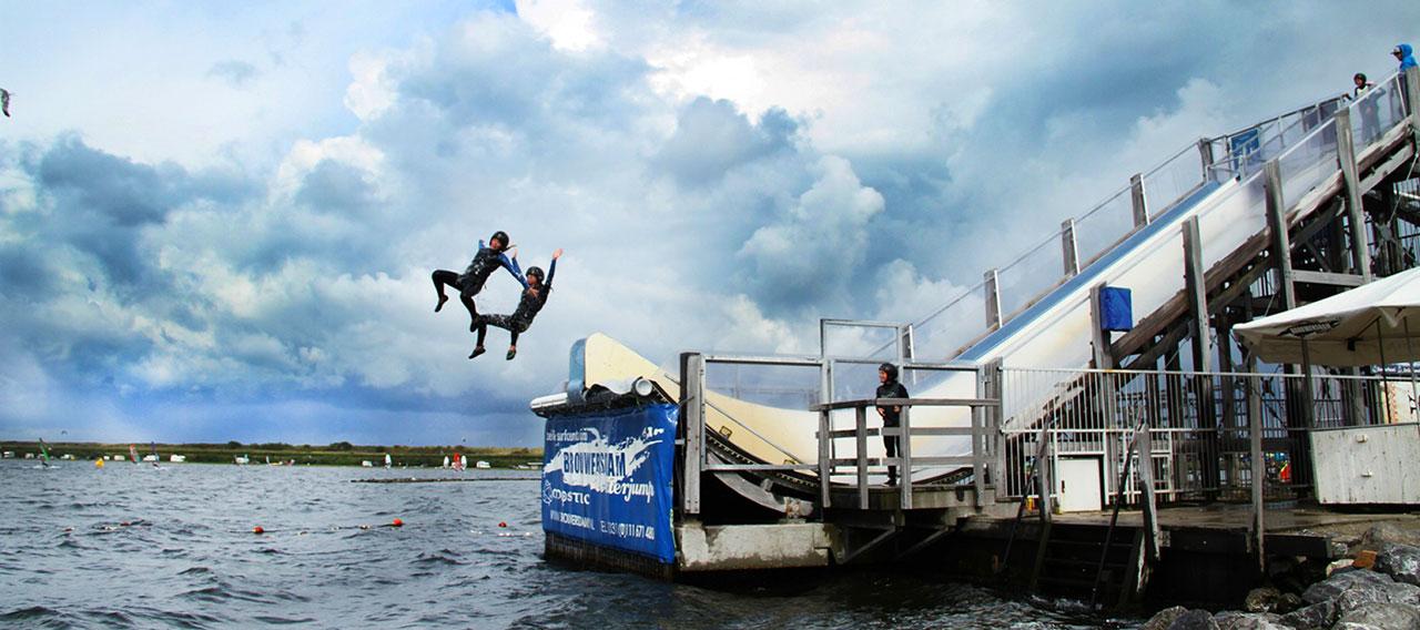 Varen in Zeeland: Waterjump