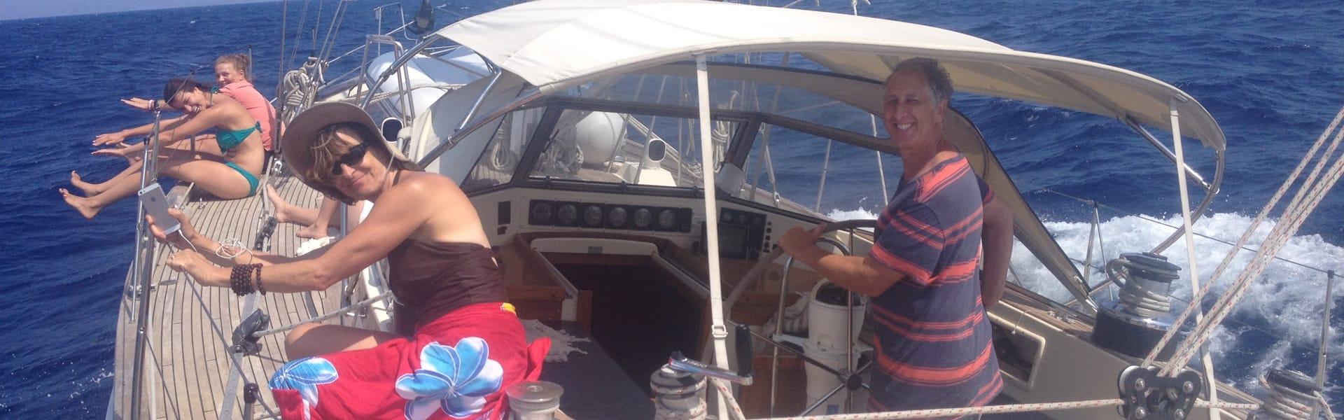 Sailing on Big Blue