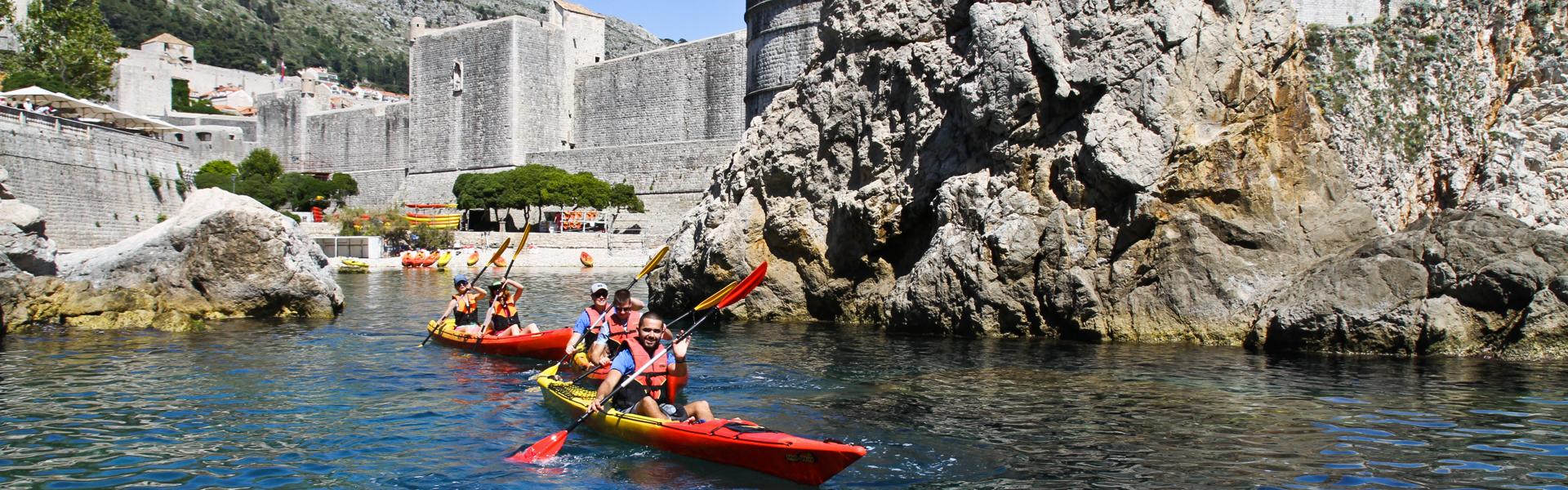 Kajakken Dubrovnik