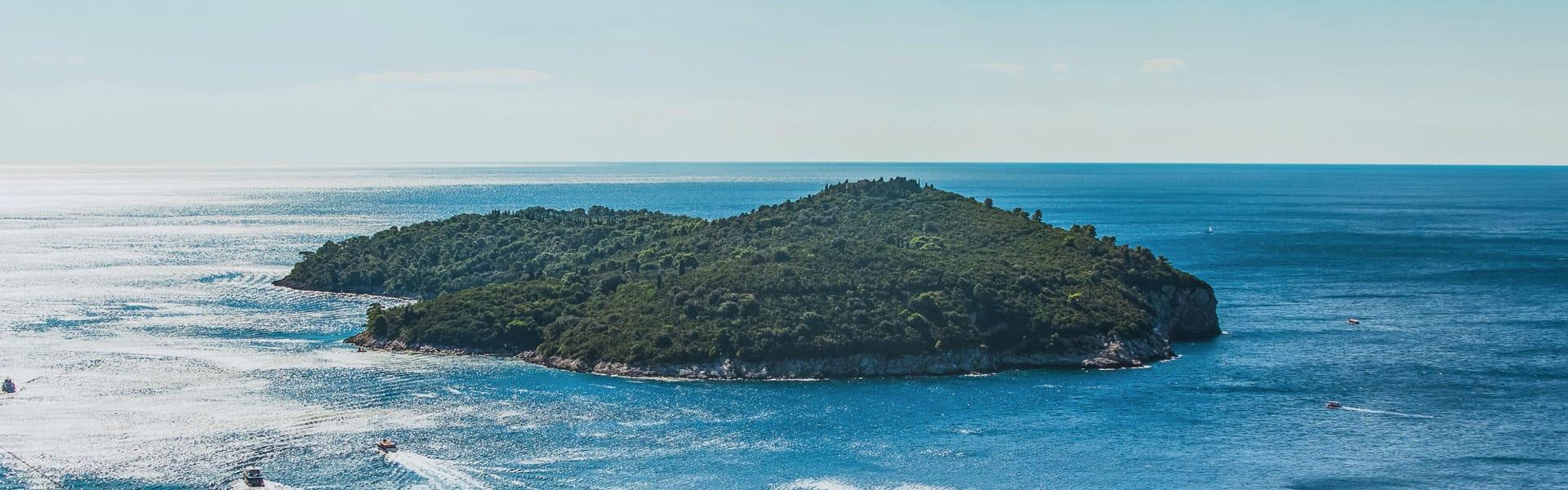 Lokrum eiland Dubrovnik