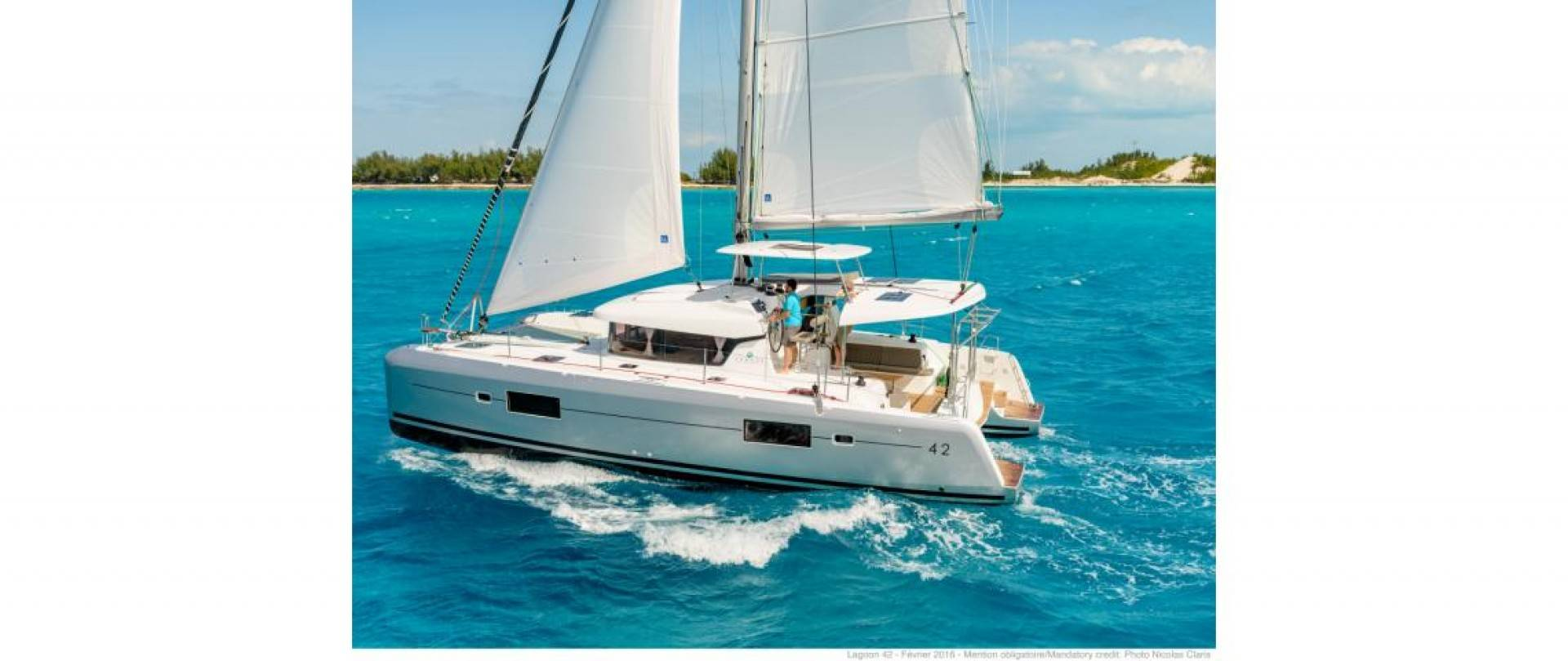 Lagoon 42 Catamaran - new 2017
