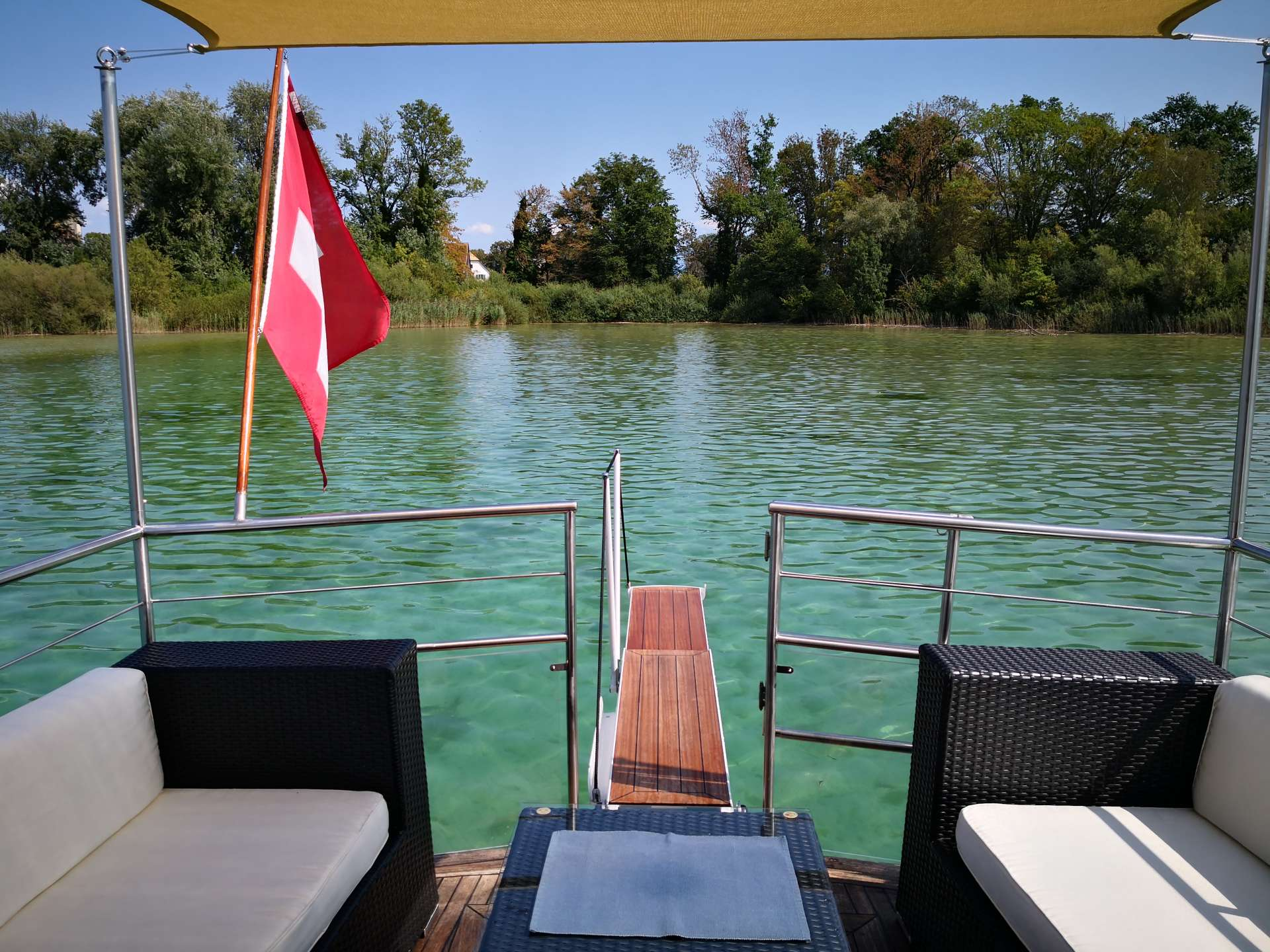 Deluxe Yacht Charter on Lake Zurich