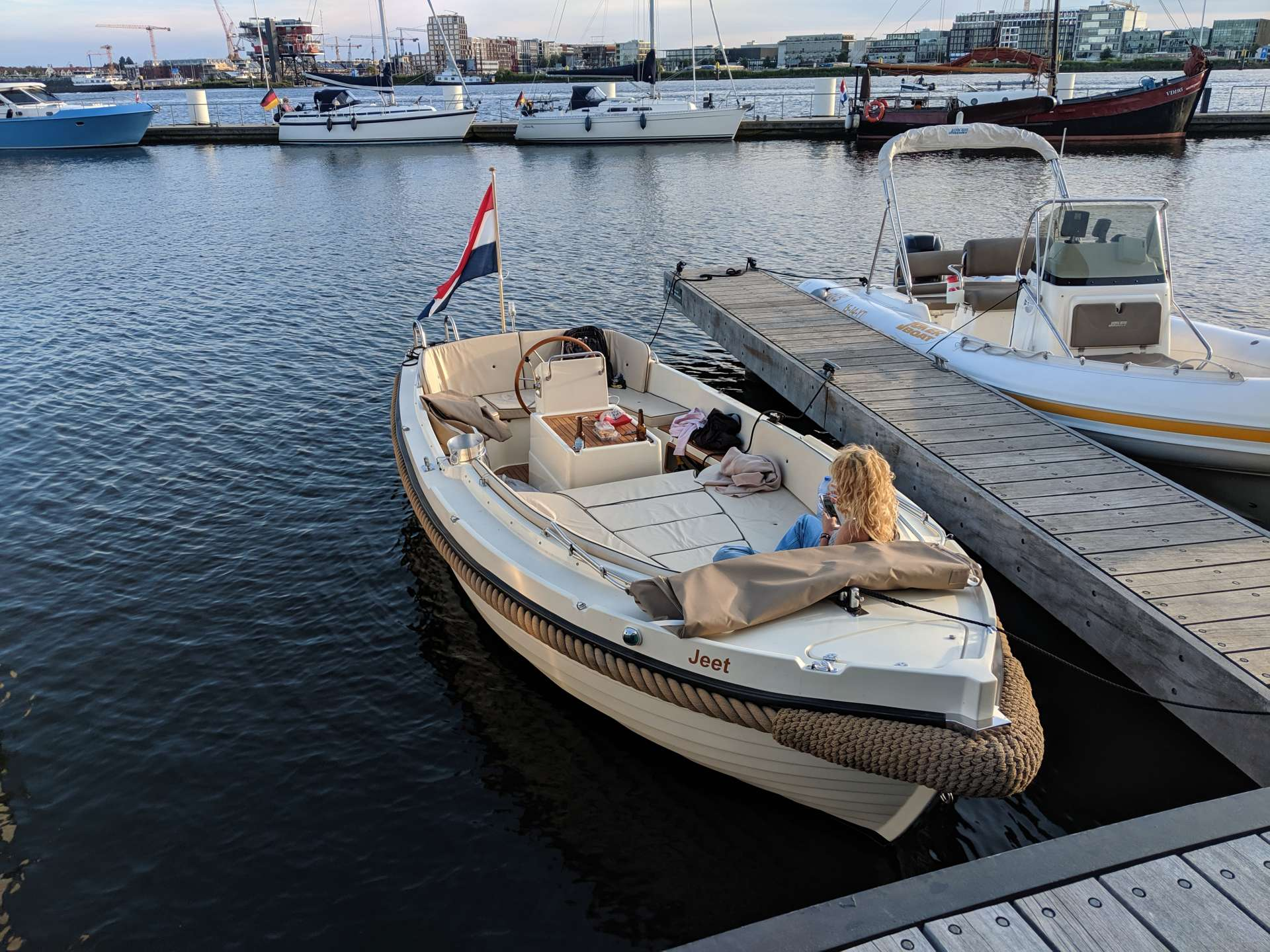 Luxury Boating in Amsterdam